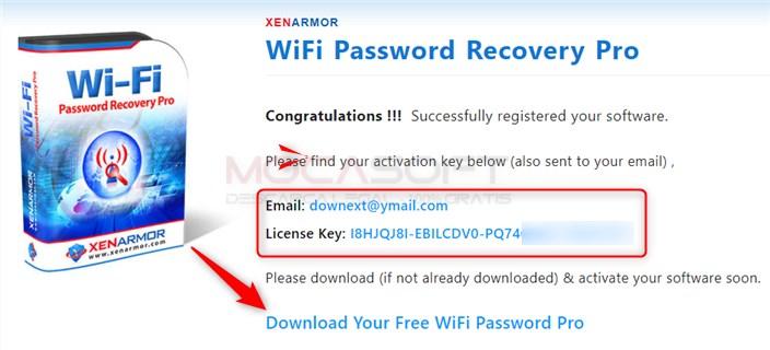 WiFi Password Recovery Pro serial key