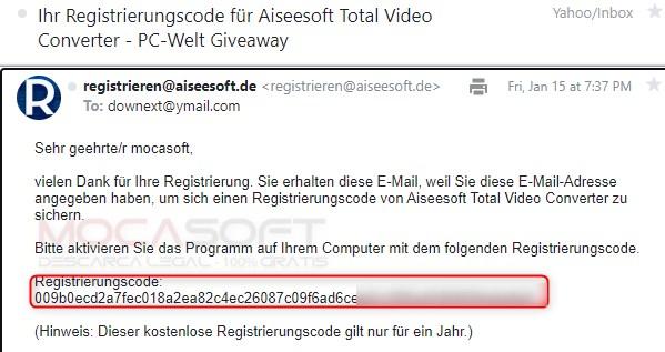 Aiseesoft Total Video Converter Serial key