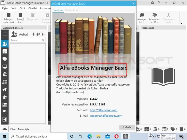 Alfa eBooks Manager Gratuit