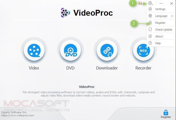 Digiarty VideoProc Gratis