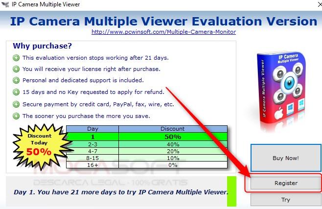 IP Camera Multiple Viewer Full Version