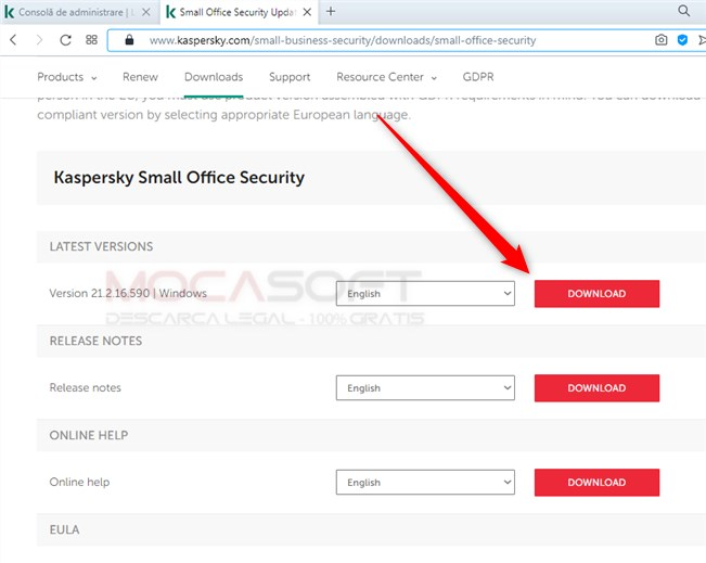 Kaspersky Small Office Security Download link