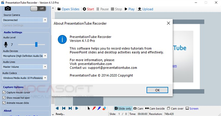 PresentationTube Recorder Pro Giveaway