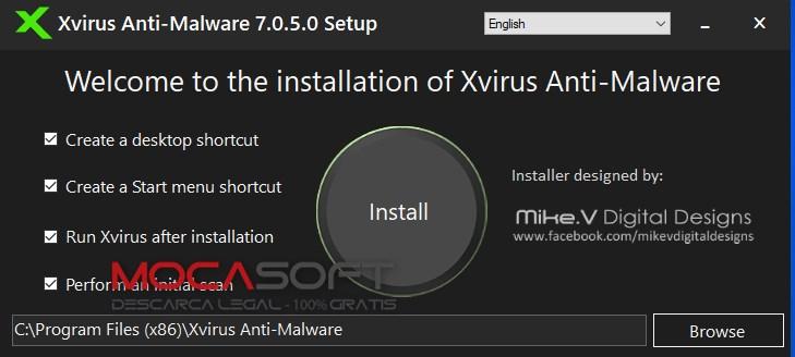 Xvirus Anti-Malware Pro cu licenta gratuită pentru 1 an