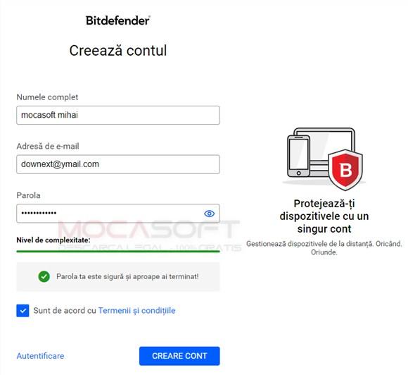 Bitdefender Total Security - Licenta Gratis