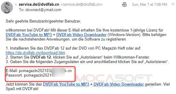 DVDFab Youtube to Mp3 si Video Downloader Gratuit