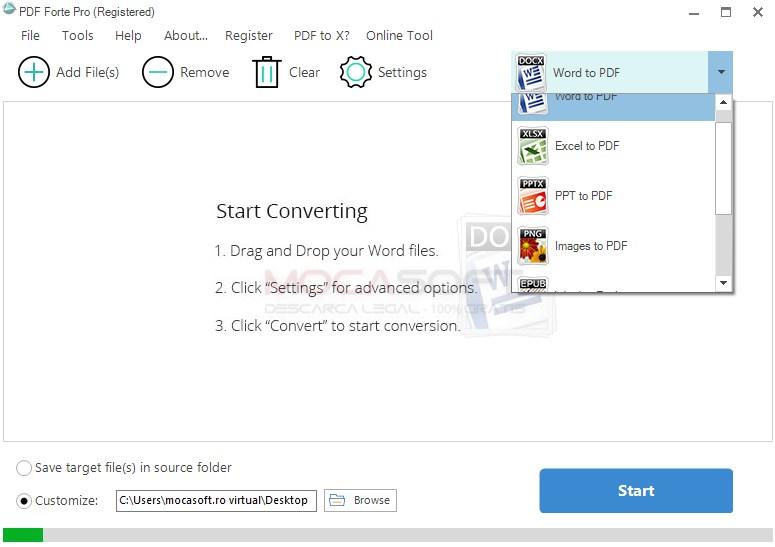 PDF Forte Pro Licenta Gratuită