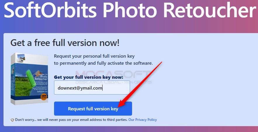 SoftOrbits Photo Retoucher Gratis