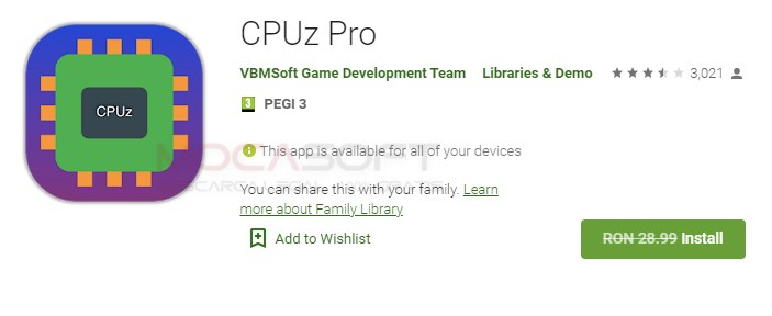 CPUz Pro Gratuit