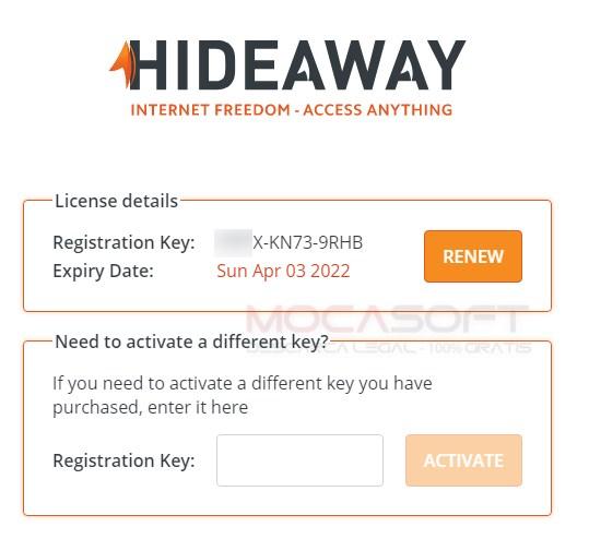 Hideaway VPN Gratuit