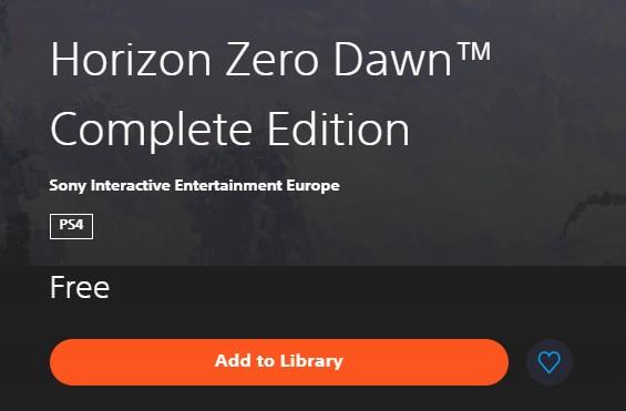 Horizon Zero Dawn Complete Edition este gratuit pe PlayStation Store