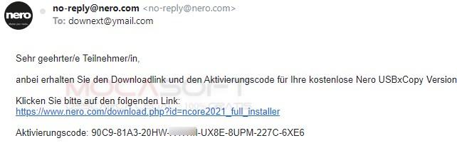 Nero USBxCopy Serial Key