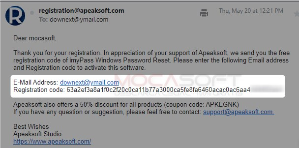 Apeaksoft imyPass Windows Password Reset