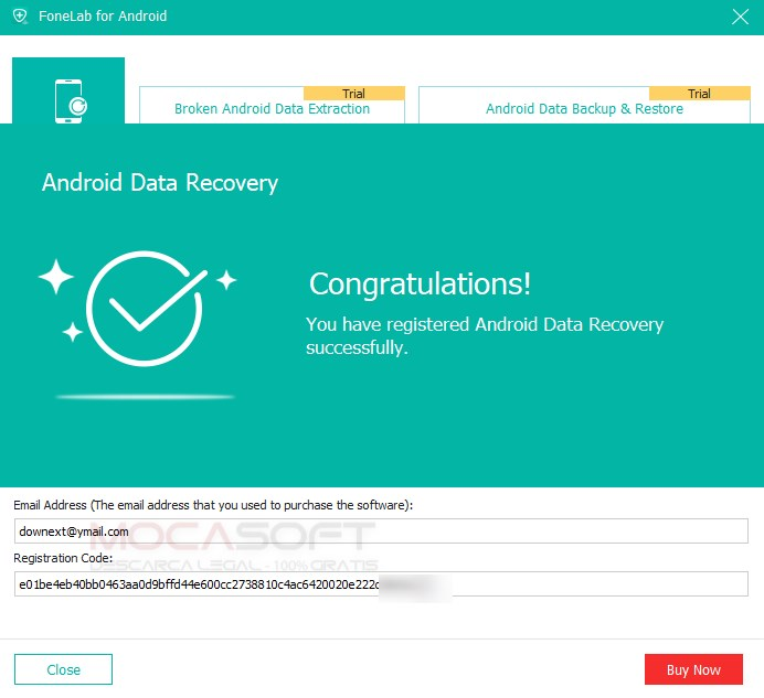 FoneLab Android Data Recovery Gratuit