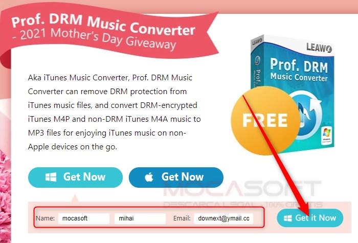 Leawo Prof. DRM Music Converter cu Licenta Gratuita