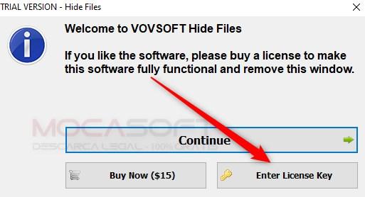 VovSoft Hide Files Licenta Gratis