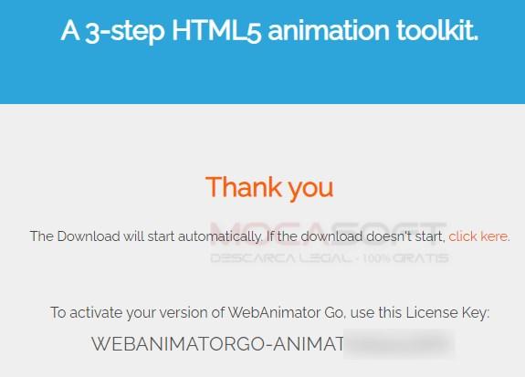 WebAnimator Go serial key