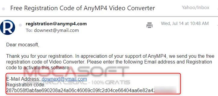 AnyMP4 Video Converter serial