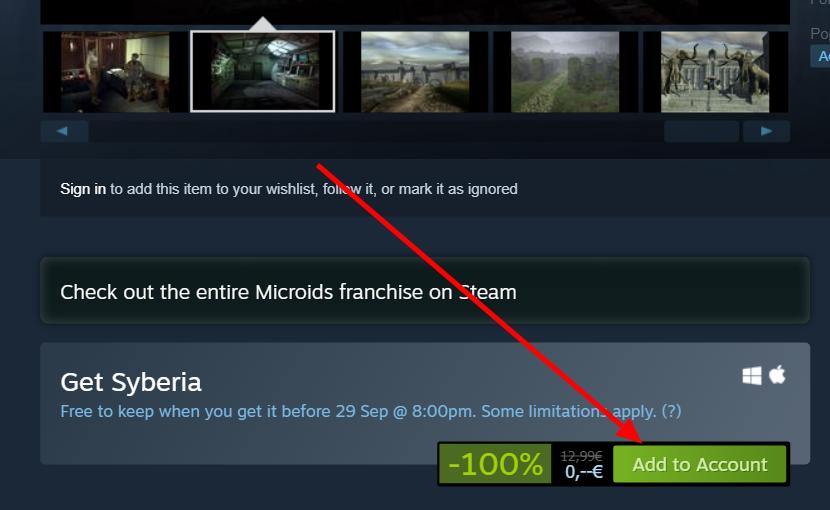 Syberia - Joc Gratuit pe steam