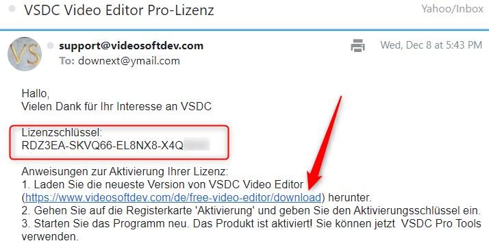 VSDC Video Editor PRO Licenta